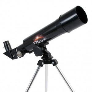 EXPLORE SCIENTIFIC TELESCOPE SOLAIRE 50MM SUN CATCHER